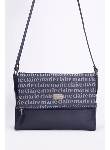 Marie Claire Postacı Çantası Lacivert